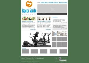 Academia Espaço Saúde - Web Principal
